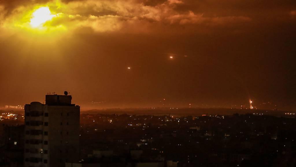 Israel beschiesst nach neuen Angriffen Ziele im Gazastreifen
