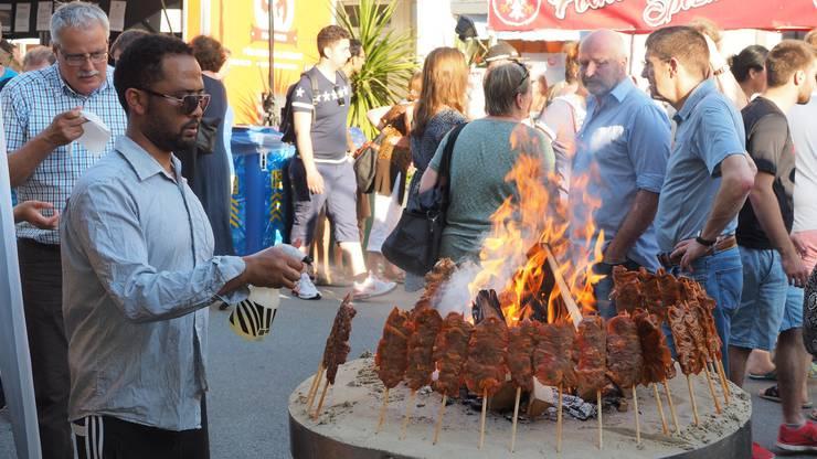 Impressionen vom Streetfood-Festival Olten 2016