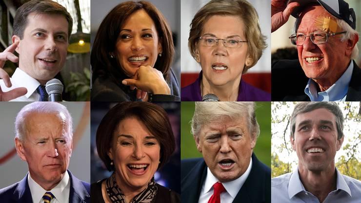 Die Demokraten streiten darüber, welcher Kandidat die besten Chancen gegen Donald Trump hat.