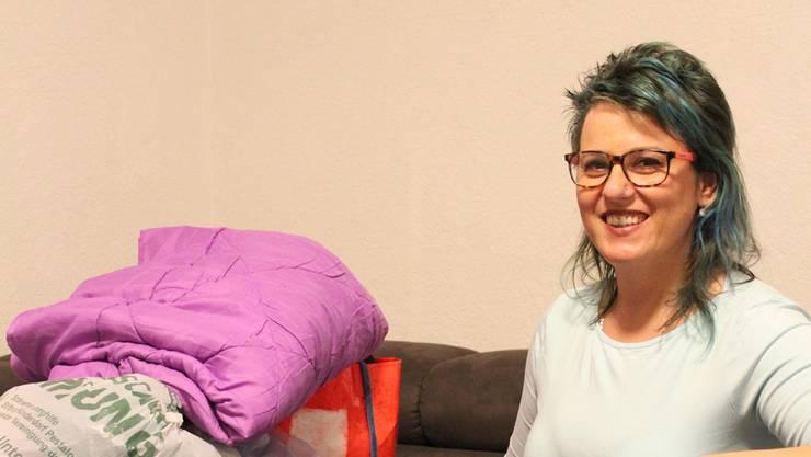 Sie wird als lebenslustiger Engel bezeichnet: Ana Jeremic sammelt Kleider, Möbel und Geld für Bedürftige.