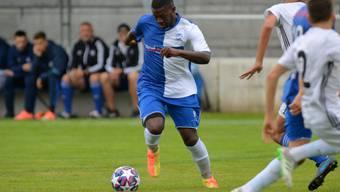 Stephane Essomba  brachte den FC Grenchen mit seinem ersten Saisontor bereits nach fünf Minuten in Front.