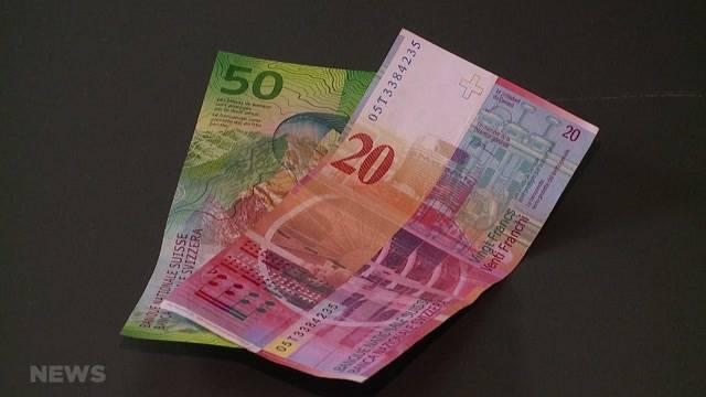 70 Franken spalten das Bundeshaus