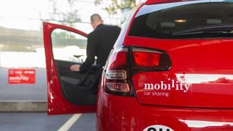 Mit dem Verschwinden von Mobility in Birmenstorf und Würenlos gibt es im Bezirk Baden noch 14 Gemeinden, in denen die bekannten roten Autos zur Verfügung stehen.