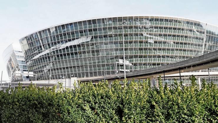 Neun Etagen wird das Universitätsspital Zürich am Circle am Flughafen Zürich mieten.