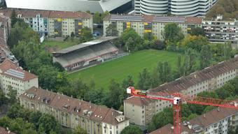 Seit Jahren dauert der Hickhack um den Landhof an. Die Situation ist verzwickt Stadion, Pavillon oder Parking