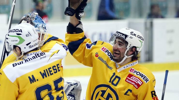 Der Davoser Captain Andres Ambühl erhielt vom Schweizer Nationaltrainer Patrick Fischer ein Aufgebot, seine HCD-Teamkollegen Marc und Dino Wieser hingegen nicht