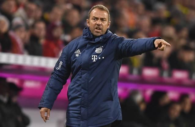 Mit Hansi Flick ist Bayern München in der Bundesliga zurück an der Tabellenspitze.
