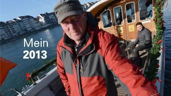 Musste schon Schwimmer aus dem Rhein fischen: Urs Zimmerli.
