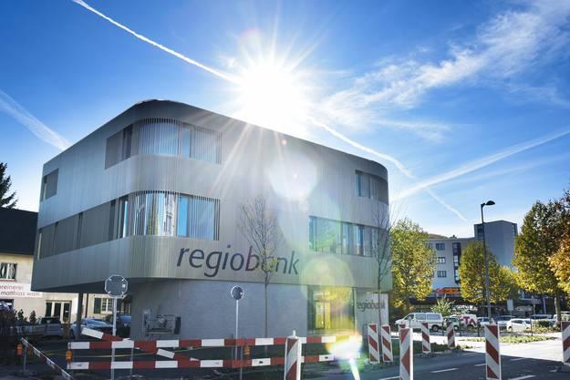 Die neue Regiobank in Zuchwil
