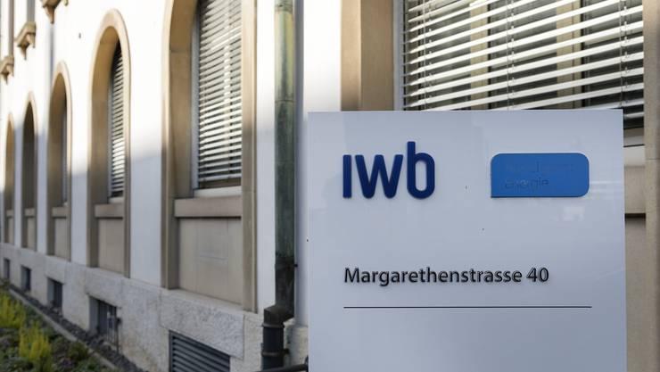 Die IWB an der Margarthenstrasse 40 in Basel (Archiv)