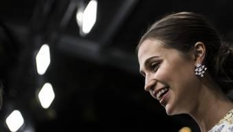 Alicia Vikander, hier am Zurich Film Festival 2017, soll laut biritschen Zeitungen den Schauspieler Michael Fassbender geheiratet haben. (Archivbild)