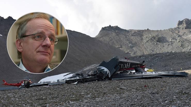 Aviatik-Experte Sepp Moser kann sich nicht erklären, wie es zum Unfall kam.