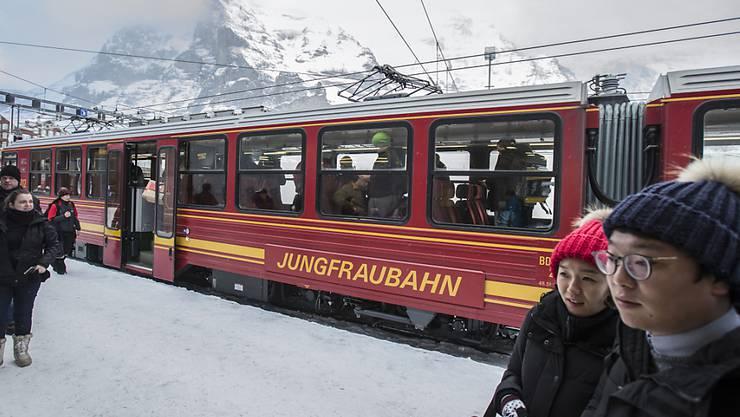 Die Jungfraubahn-Gruppe ist im ersten Halbjahr 2019 weiter gewachsen und hat erneut ein Rekordergebnis erzielt. (Archiv)