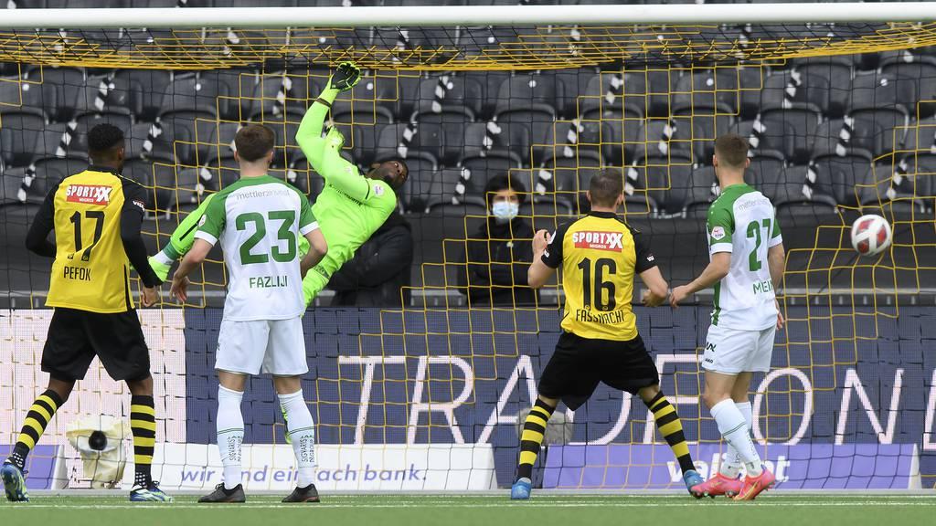 St.Gallen verliert wichtiges Spiel gegen YB mit 0:2