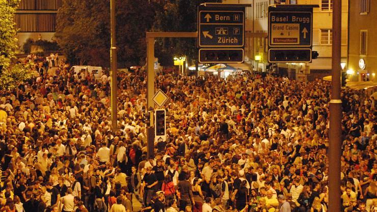 Hunderttausend Besucher jeden Abend – wie 2007 wird die Badenfahrt auch dieses Jahr Menschenmassen anlocken.