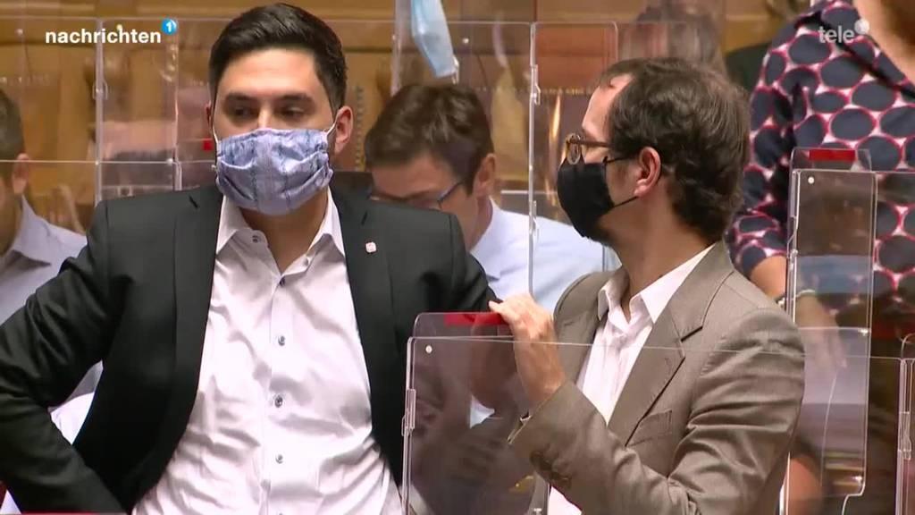 Parlamentarier halten sich nur bedingt an Corona-Regeln