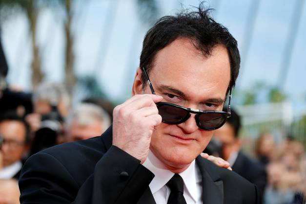 Quentin Tarantino in Cannes.