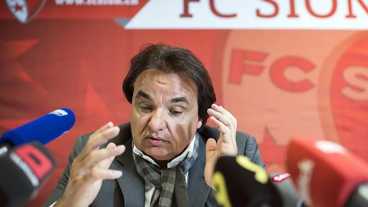 Präsident Christian Constantin droht mit dem FC Sion weiteres Ungemach