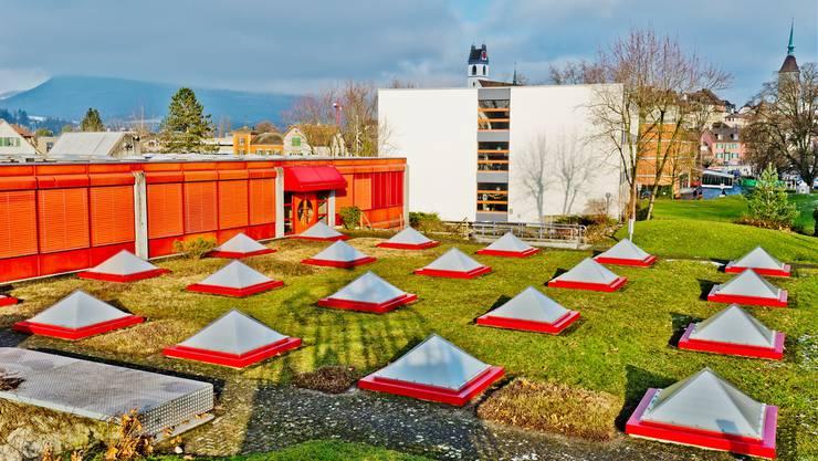 Im Schachen nutzen Primarschüler die frei werdenden Zimmer im Oberstufenschulhaus.