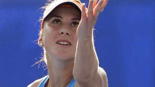 Belinda Bencic erreicht auf WTA-Stufe erstmals einen Viertelfinal