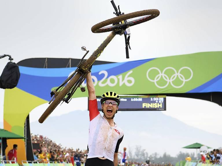 Nino Schurter: Mit Gelassenheit und Perfektion zum Olympiasieg