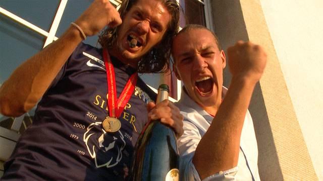 FCZ ole oleee: So feierten die Spieler und Fans