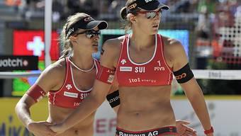 Nadine Zumkehr und Simone Kuhn mit schwachem Turnierstart