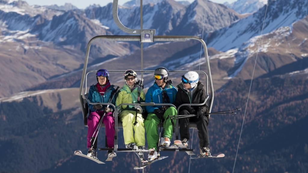 Die Bündner Skigebiete bleiben bis zum Ende der Saison offen