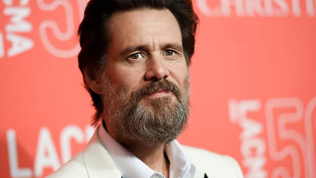 Jim Carrey ist geschockt über die Nachricht vom Tod seiner Ex-Freundin. (Archivbild)