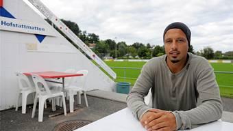Der ehemalige Super-League-Fussballer Elvir Melunovic spielt seit 2009 für den 2.-Ligisten FC Suhr. Spichale