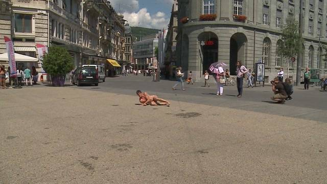 Nacktfestival in Biel