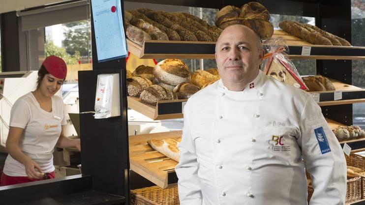 Die Bäckerei Spitzbueb von Pierluigi Ghitti zählt zu den Meierhöfler-Treffpunkten.