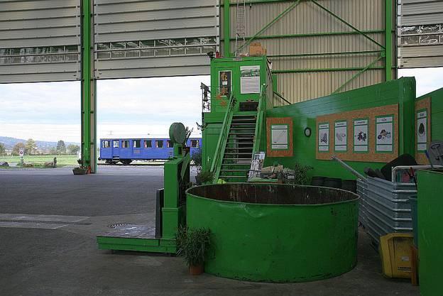 Im Krimi Reset  gehts um Recycling. Wir besuchten das moderne und preisgekrönte Recycling Paradies in Reinach.