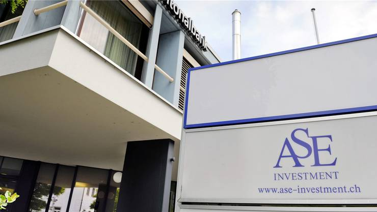 Betrieben wie ein klassisches Schneeballsystem: Die Niederlassung der ASE Investment AG in Frick.Walter Bieri/Keystone