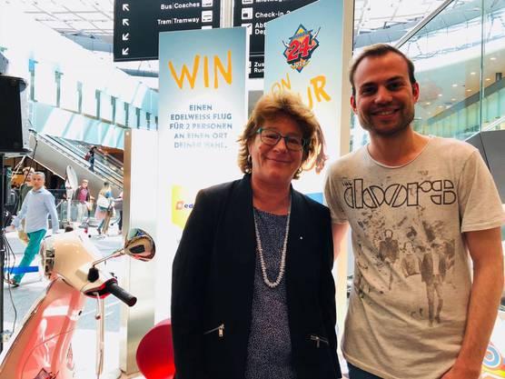 Sonja Zöchling arbeitet seit 33 Jahren als Flughafen-Mediensprecherin.