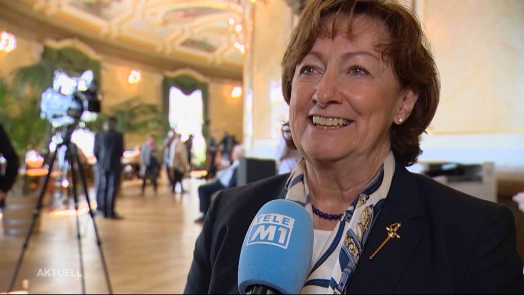 Abschied von SVP-Nationalrätin Sylvia Flückiger