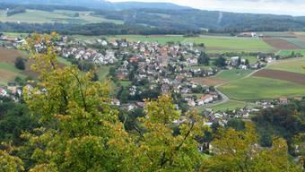Das Oberbaselbiet von der Burg Homburg aus. (Archiv)