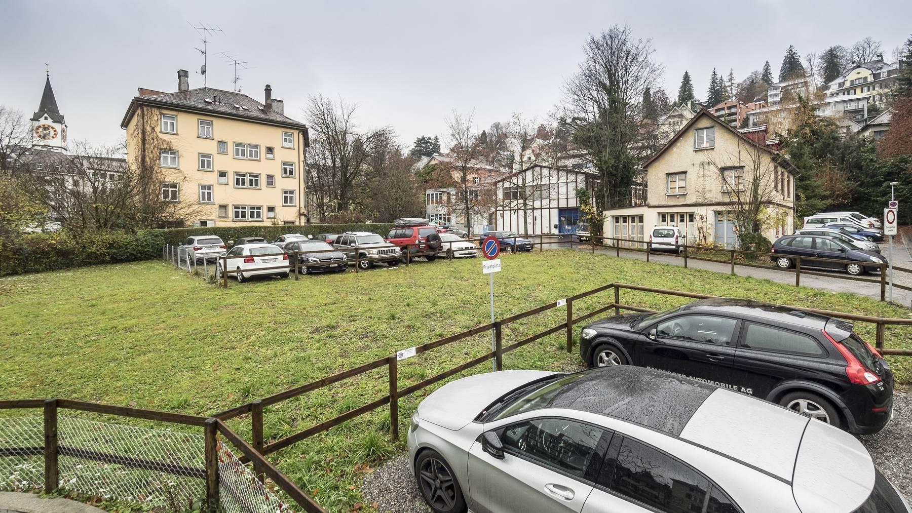 Am Platztor soll ein neuer Campus für die Universität St.Gallen entstehen.