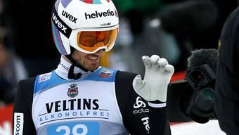 Kilian Peier darf sich über sein starkes Abschneiden in der Qualifikation freuen