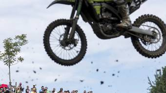 Mit dem Motocross-Grand-Prix of Switzerland bei Frauenfeld TG ist es endgültig aus. Die Organisatoren wollen das Nein der Behörden zur nötigen Baubewilligung akzeptieren (Archivbild)