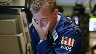US-Aktienmärkte mit Taucher (Archiv)