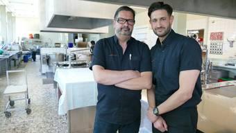 Markus und Sohn Giorgio Dominkovits