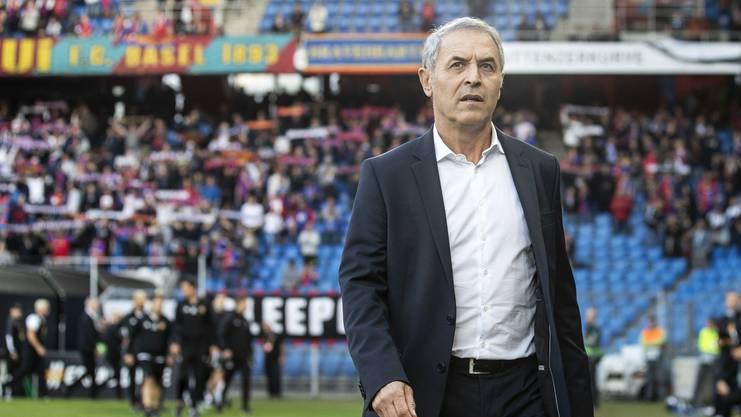 FC Basel Trainer: Marcel Koller