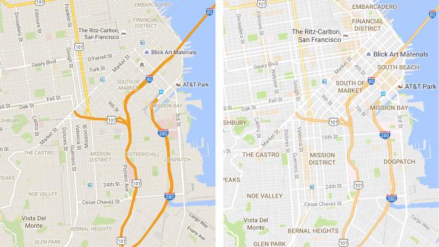 Vernetzt: Facelift bei Google Maps
