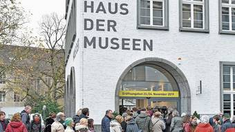 Rund 2000 Menschen besuchten das Haus der Museen bei der Eröffnung.