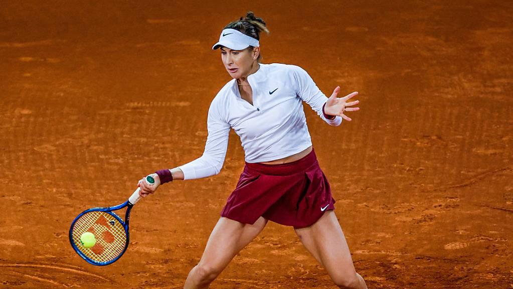 Belinda Bencic gewann das erste Duell in ihrer Karriere gegen Ons Jabeur.