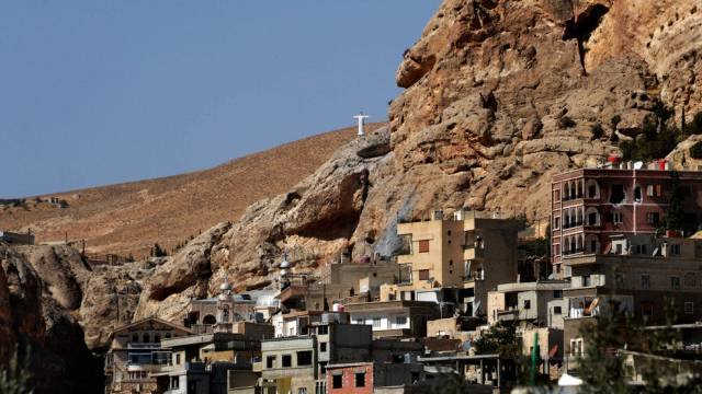 Die mehrheitlich von Christen bewohnte Stadt Maalula (Archiv)