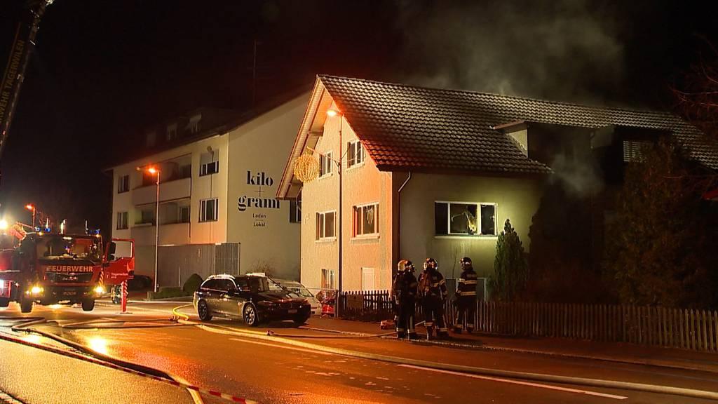 Tägerwilen TG: Mann springt aus brennender Wohnung