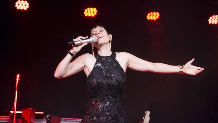 Francine Jordi bezauberte das Publikum und wurde von den Gästen bejubelt.