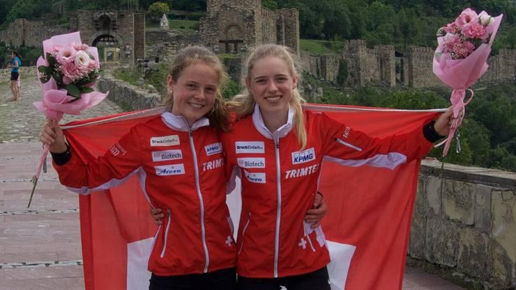 Lilly Graber (links) und Katja Brütsch (rechts)